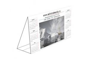 Set 50 calendare de birou personalizate, prisma
