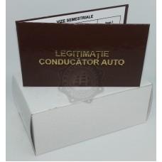 Set 12 Legitimatii conducator auto agreate ARR, Maro Gloss, 6x10cm