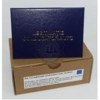 Set 12 Legitimatii conducator auto agreate ARR, Albastru, 7x10cm