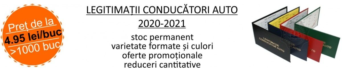 Legitimatii conducatori auto agreate ARR 2020-2021