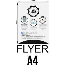 Set 50 flyere personalizate A4