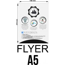 Set 50 flyere personalizate A5