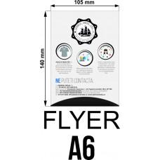 Set 50 flyere personalizate A6