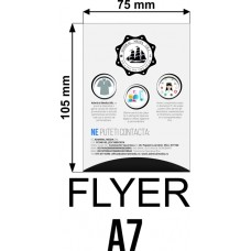Set 50 flyere personalizate A7
