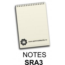 Notesuri, bloc notes personalizat SRA3