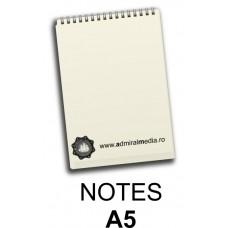 Notesuri, bloc notes personalizat A5