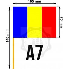 Set 50 stegulete Romania tricolore A7