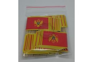 Set 50 stegulete scobitoare Muntenegru