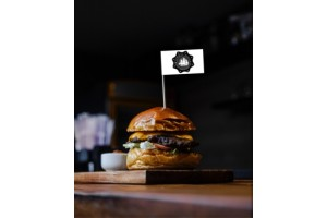 Stegulete scobitoare hamburger personalizate