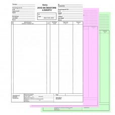 Aviz de insotire a marfii autocopiativ A4, 3 exemplare